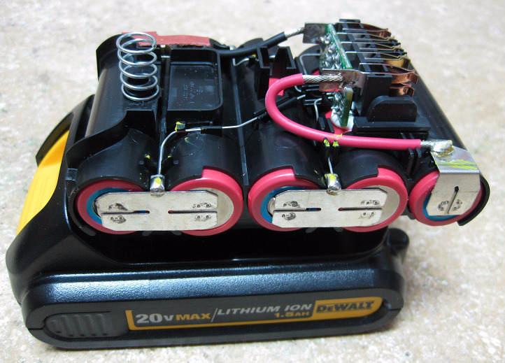 Что собой представляет аккумулятор шуруповёрта