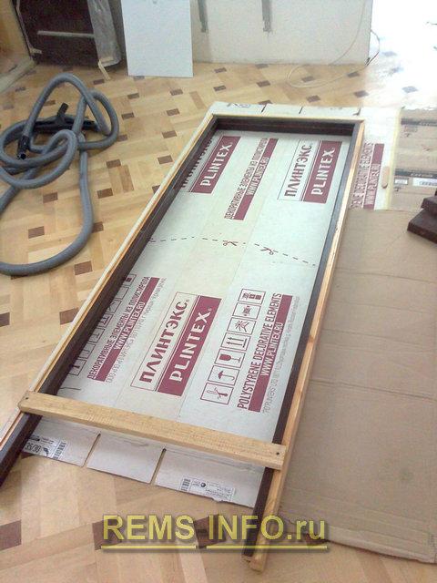 дверная коробка в собранном виде готовая к установке