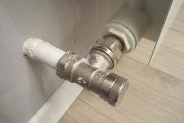 запорная арматура для радиатора отопления
