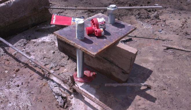 Профессиональная установка химических анкеров обеспечивает надежное закрепление любых конструкций