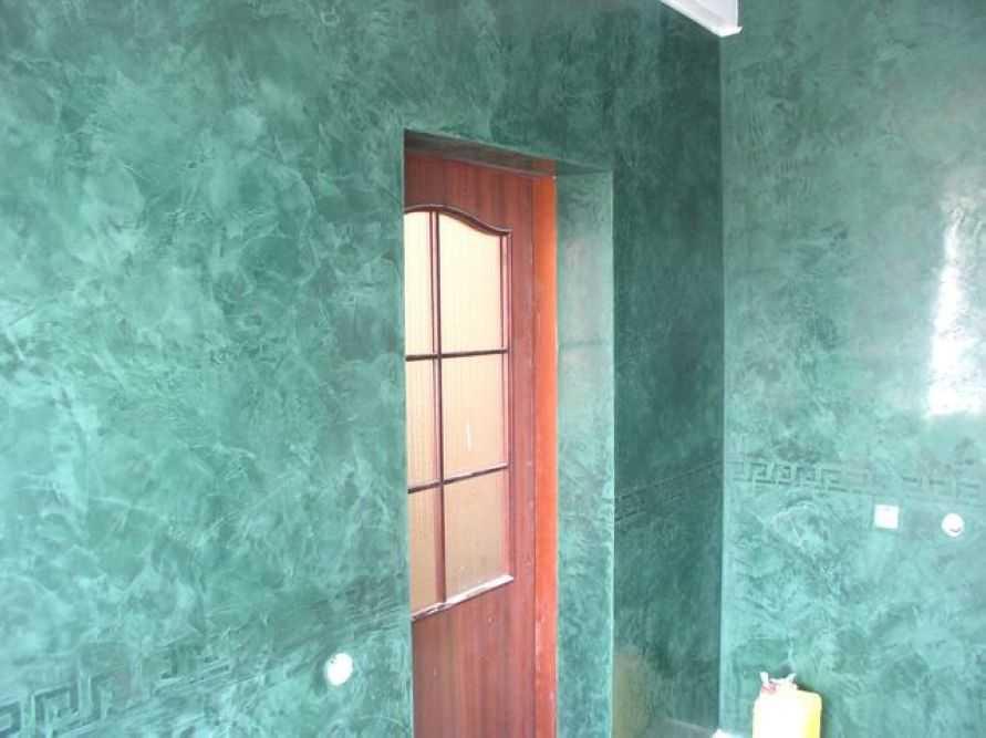 В ванной венецианка смотрится отлично