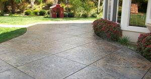 Штамп для бетонной дорожки