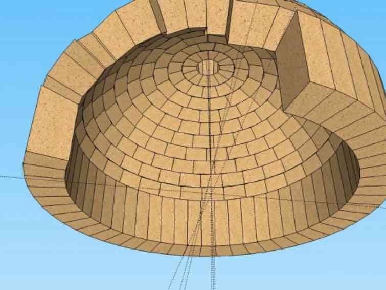 Строительство купола