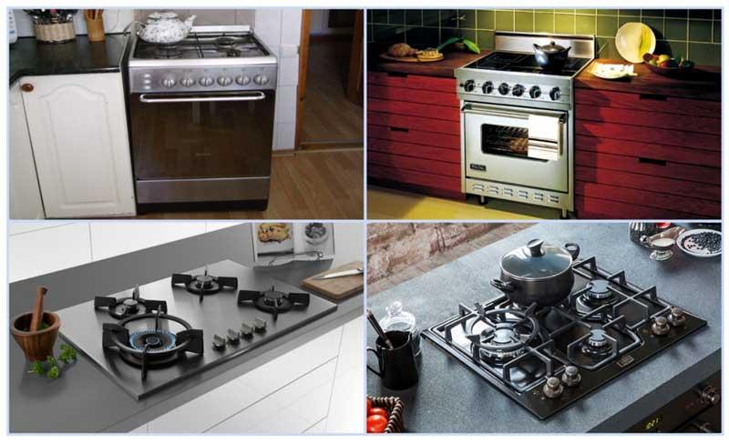 Подключение газовой плиты - различные варианты