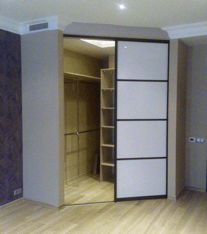 50 фото-идейустановки шкафа из гипсокартона