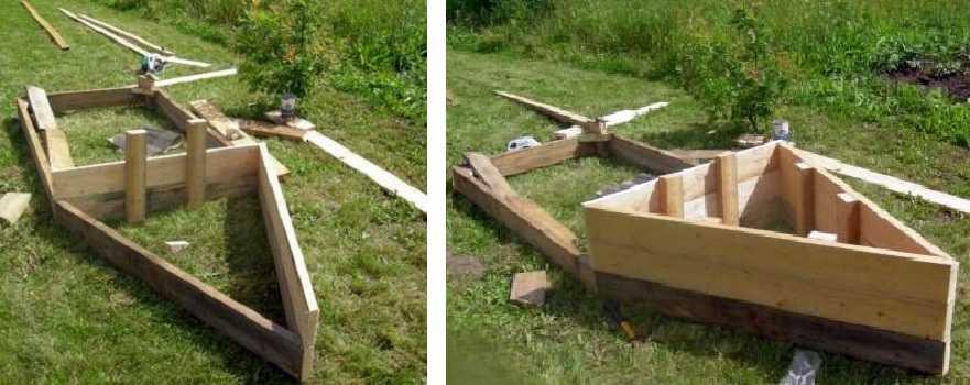 Как сделать песочницу-корабль