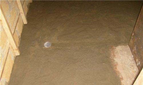 Сделайте бетонную стяжку