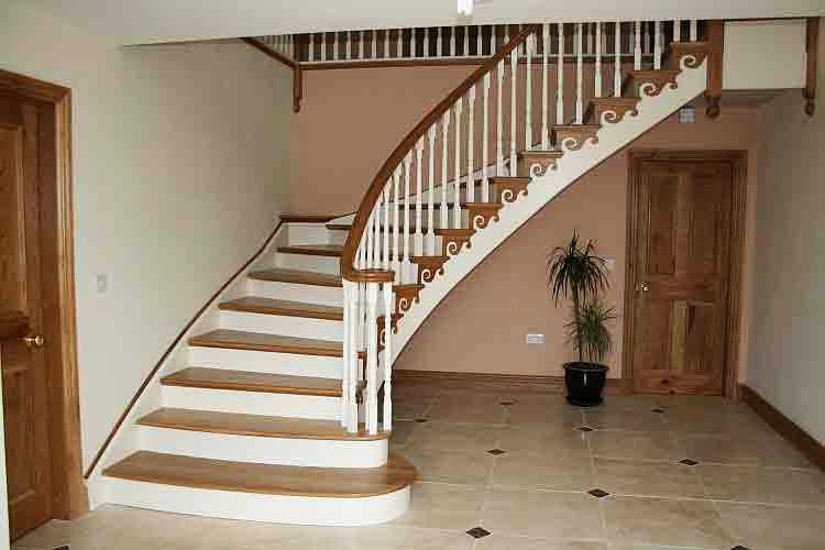 Как сделать винтовую лестницу на второй этаж, чердак