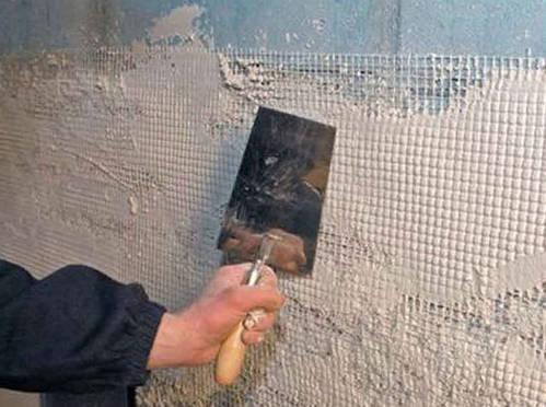 подготовка стен в ванной под плитку