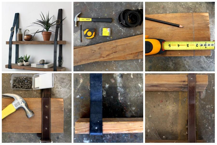 Полки своими руками: разновидности конструкций и интересные идеи применения (115 фото)