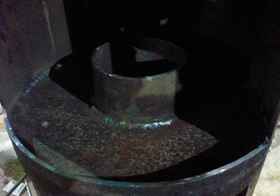 Технологический процесс изготовления печи из газового баллона
