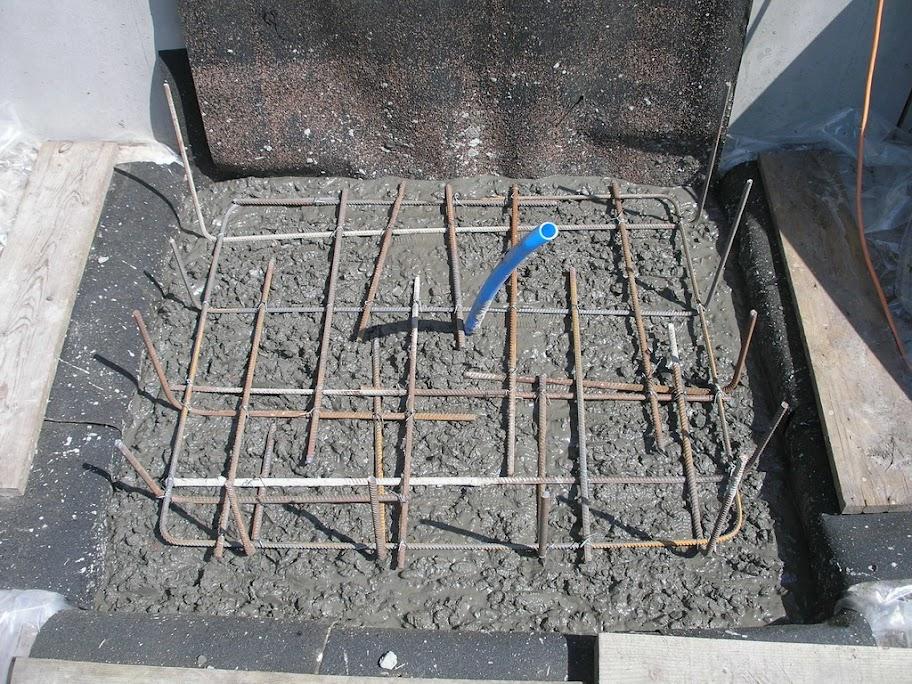 Изготовление крыльца из бетона – готовим фундамент