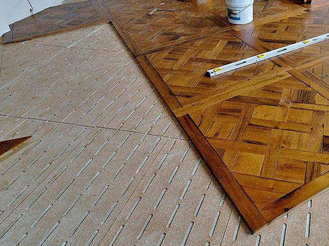 Подготовка поверхности — важный этап монтажа