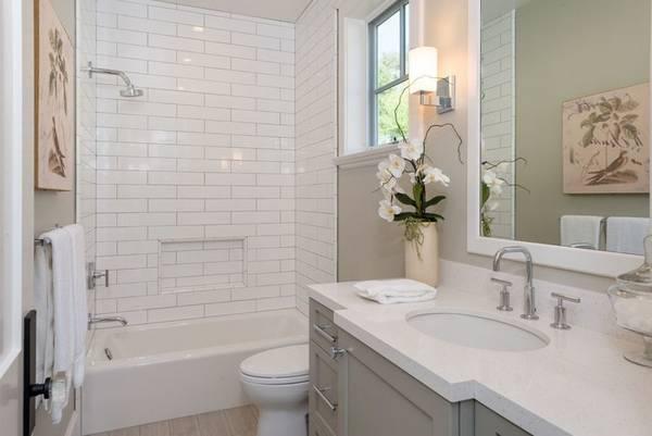 окна в ванной комнате в частном доме, фото 8