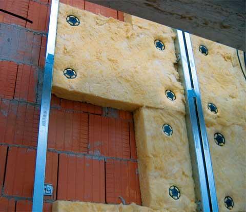 Утепление стен кирпичного гаража
