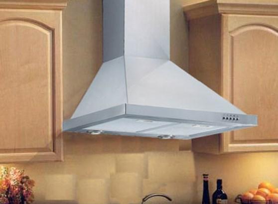 Стандартная кухонная вытяжка