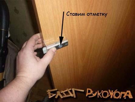 как врезать замок в межкомнатную дверь самостоятельно