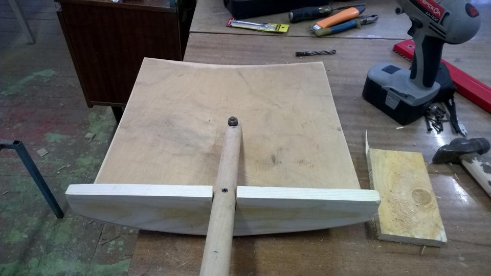 Andron17051993 ›                               Блог ›                                   (МастерскаЯ) Снегоуборочная лопата своими руками.