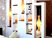 Монтаж декоративной гипсокартонной перегородки своими руками: пошаговая инструкция
