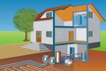 Воздушное отопление частного дома своими руками: нюансы организации и монтаж