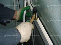 Замена штапика в пластиковом окне