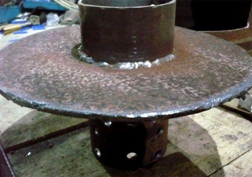 Печка на отработке своими руками: чертежи, видеоинструкции и материалы для изготовления