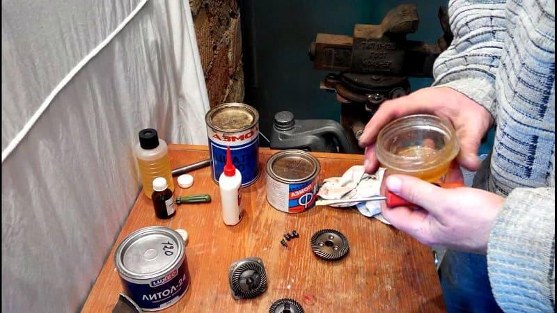 Изготовление смазки своими руками