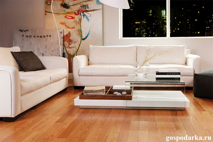 деревянный-пол