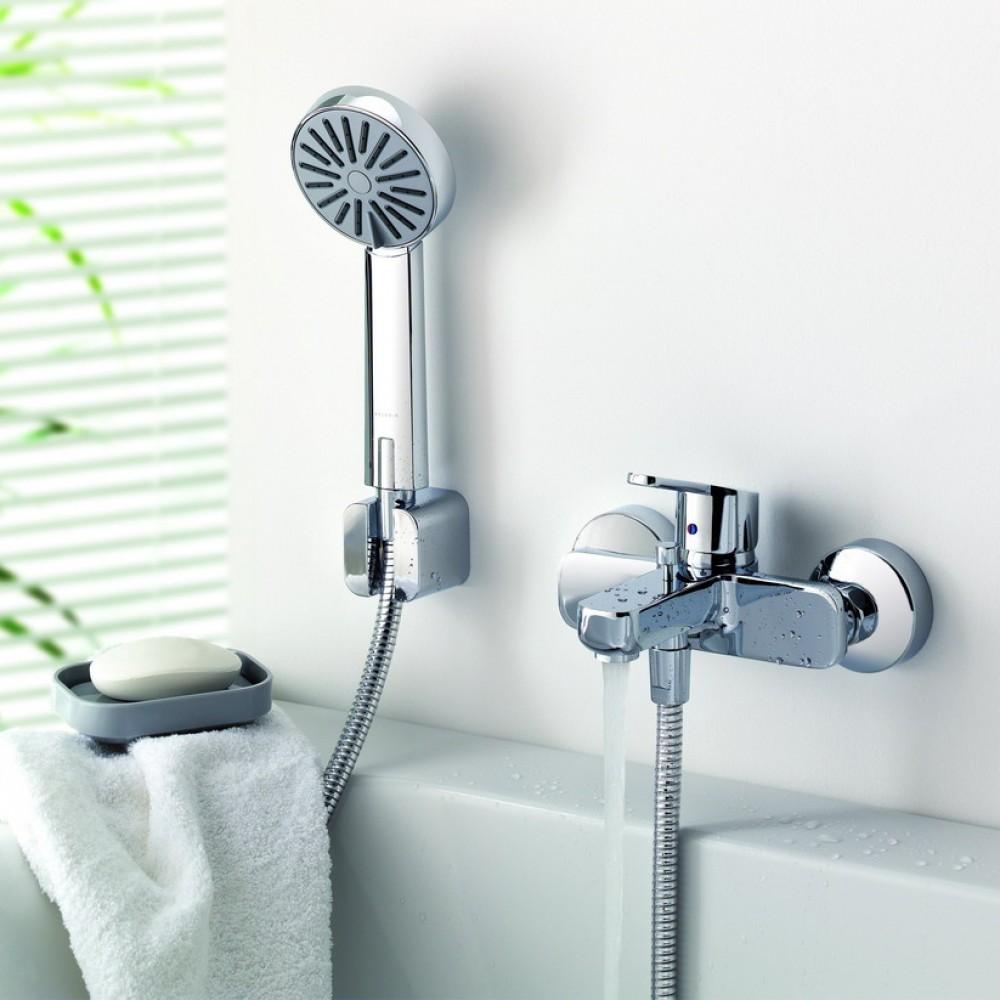 Варианты установки смесителя в ванной