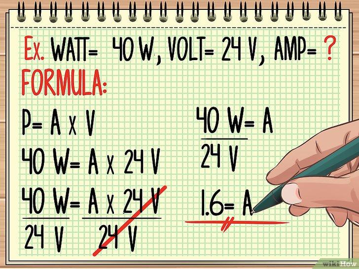 Изображение с названием Calculate Wattage Step 2
