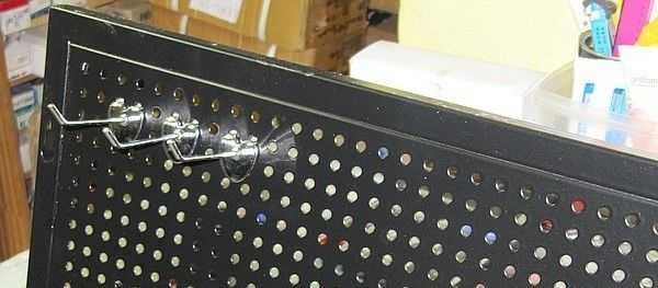 Модификация - щит с крючками