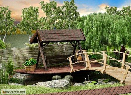 Оригинальный палисадник − деревенский стиль в ландшафтном дизайне