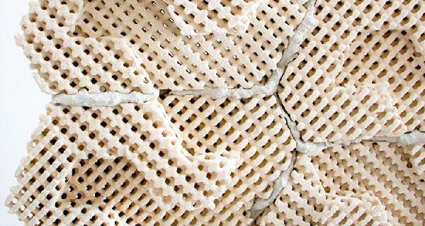 1. Новый стройматериал - энергоэффективный 3D-напечатанный кирпич с охлаждением