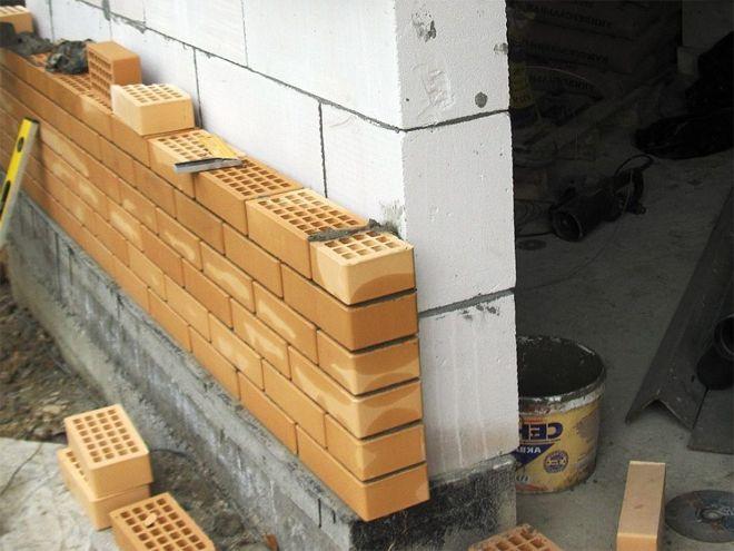 Особенности стены из газоблока