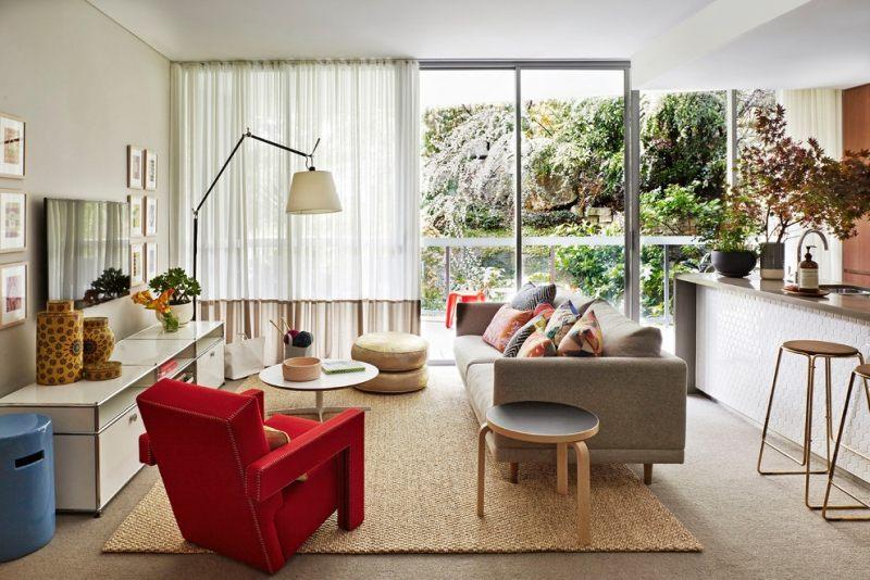 50 идей стильного дизайна для маленького зала: