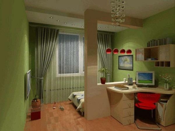 Разделяем комнату на зоны с помощью мебели