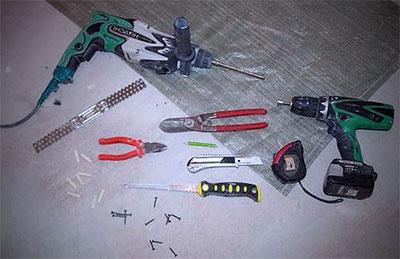 фото инструментов для монтажа