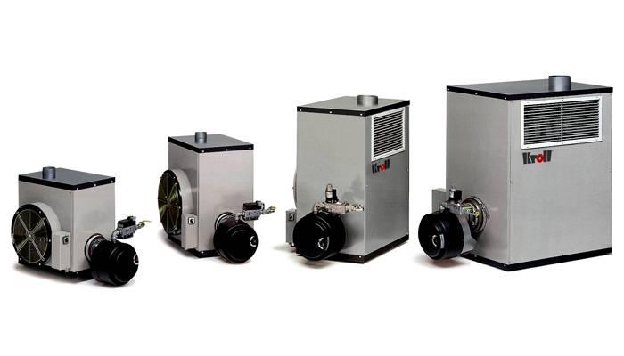 Компактные теплогенераторы на природном газе