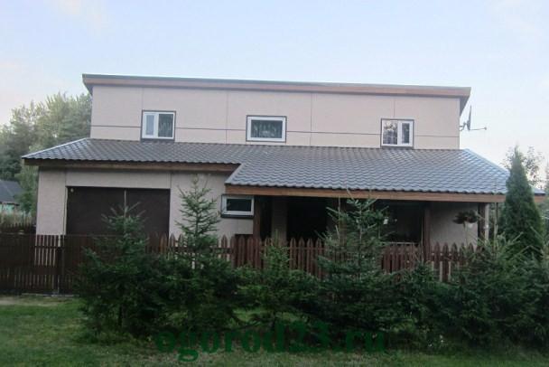 Односкатная крыша своими руками пошагово 2