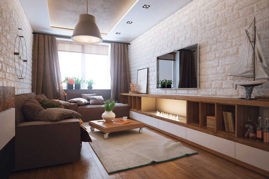 дизайн интерьера квартир 2019