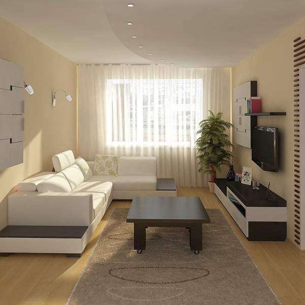 Дизайн гостиной в квартире - лучшие варианты и идеи 2017