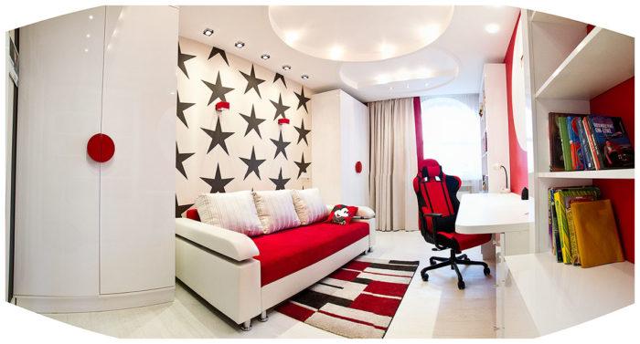Правильный дизайн комнаты для девочки