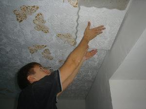 Методы поклейки потолочной плитки