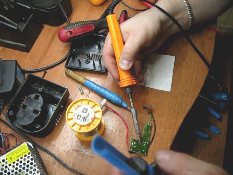 Ремонт зарядки шуруповерта