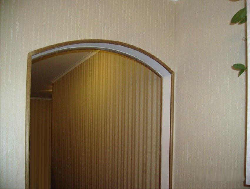 Уголки для арки на обои