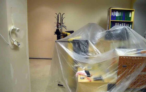 Фото защита мебели от пыли