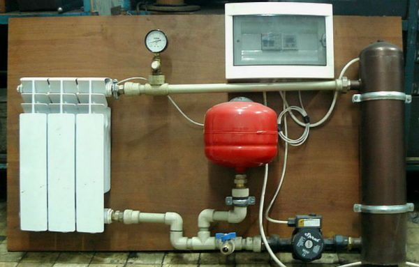 Индукционный электрообогрев