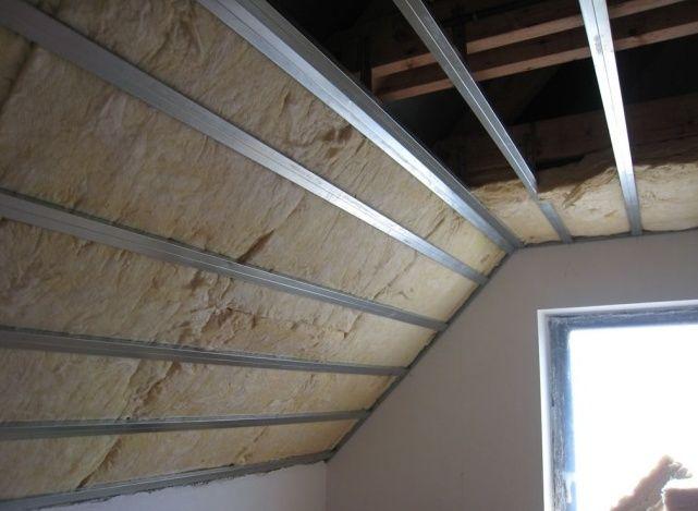 Чем утеплить крышу мансарды - минеральная вата