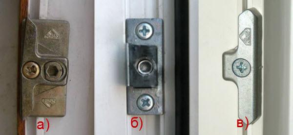 Регулировка прижима окна с помощью ответок