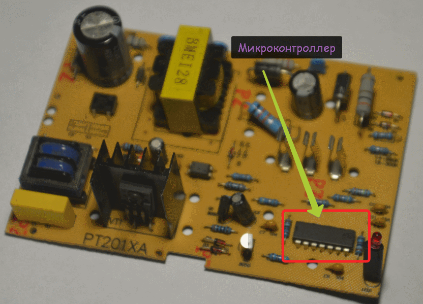 Ремонт зарядки шуруповерта микроконтроллер